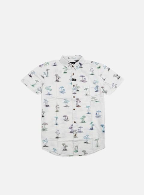 camicie globe shroom shirt white