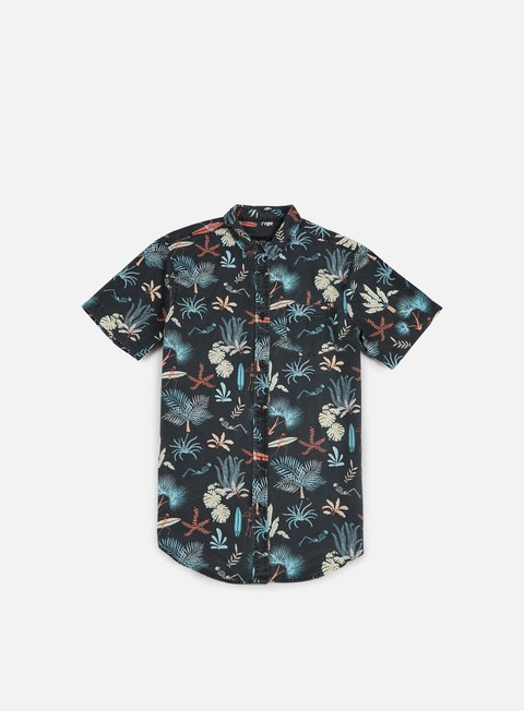 camicie globe sunburnt ss shirt black