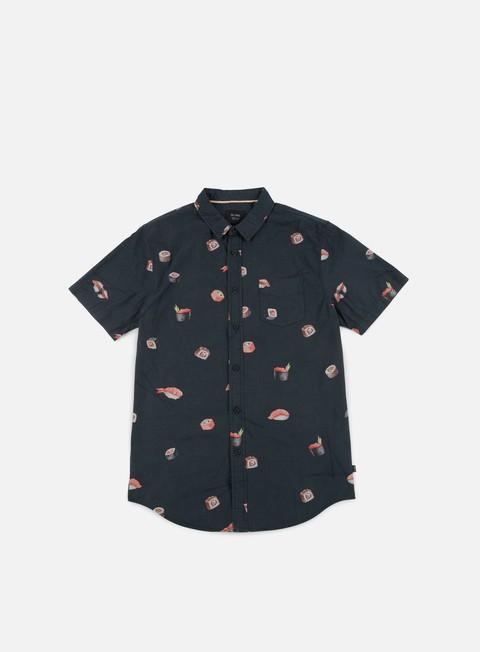 camicie globe sushi ss shirt black