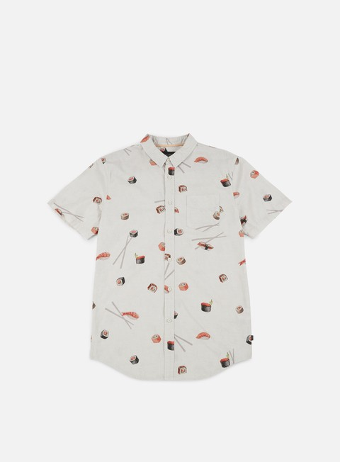 camicie globe sushi ss shirt oyster