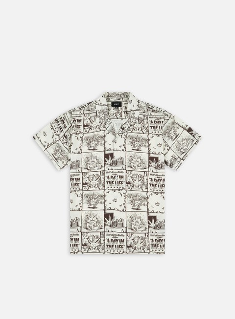 Camicie a Manica Corta Huf Day In The Life Woven SS Shirt