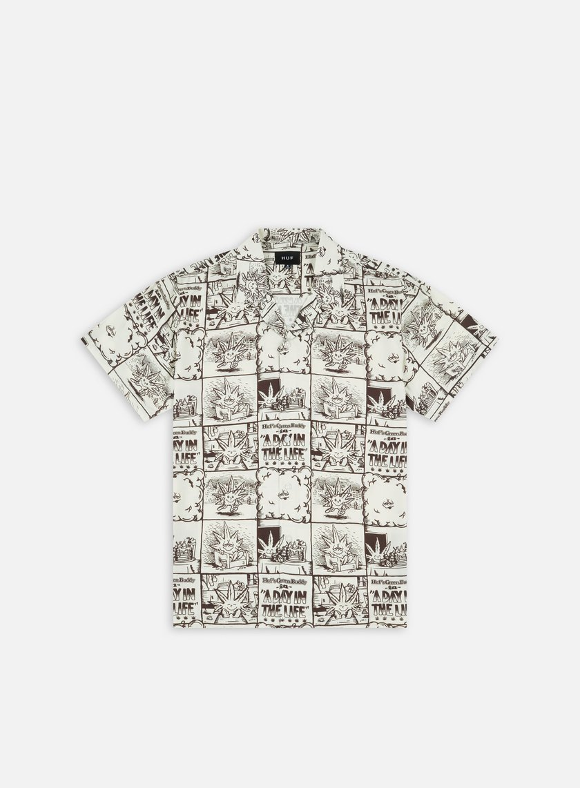Huf Day In The Life Woven SS Shirt