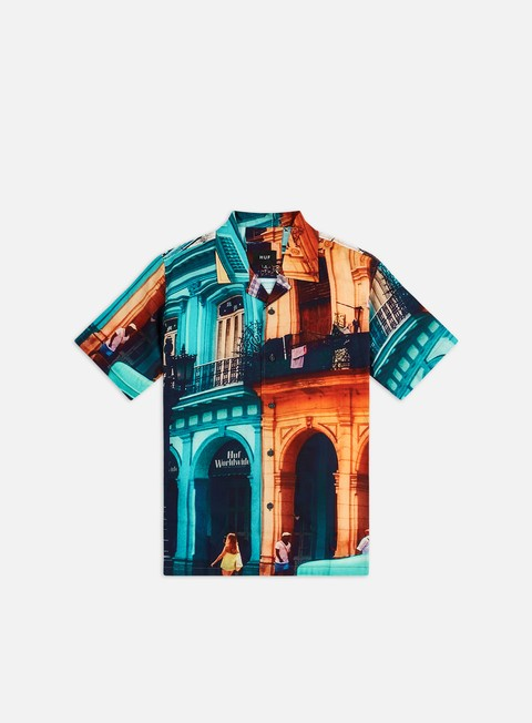 Short Sleeve Shirts Huf Havana Resort SS Shirt