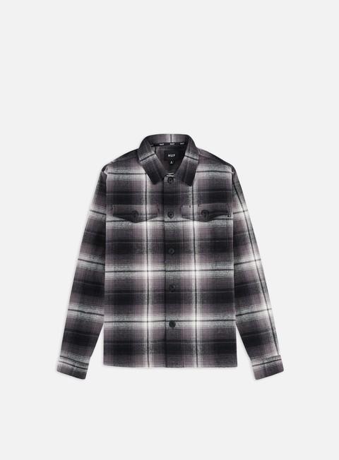 Long Sleeve Shirts Huf John Bdu Woven LS T-shirt
