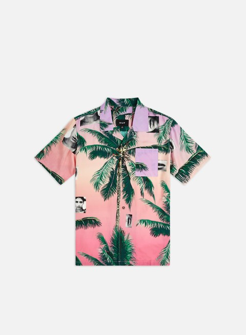 Camicie a Manica Corta Huf Molly Resort SS Shirt