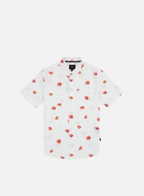 Short Sleeve Shirts Huf Poppy Woven SS Shirt