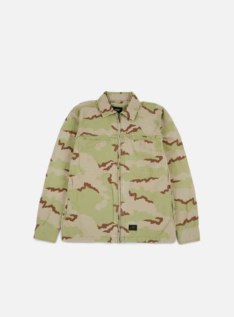 Long Sleeve Shirts Huf Reine BDU LS Shirt