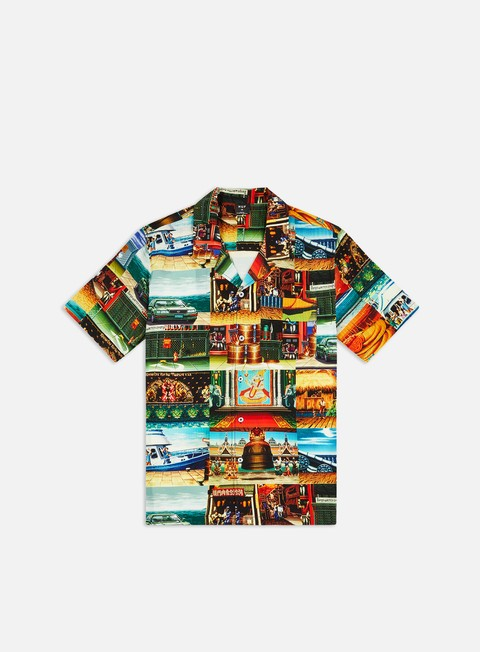 Camicie a Manica Corta Huf Street Fighter II Stages Resort SS Shirt