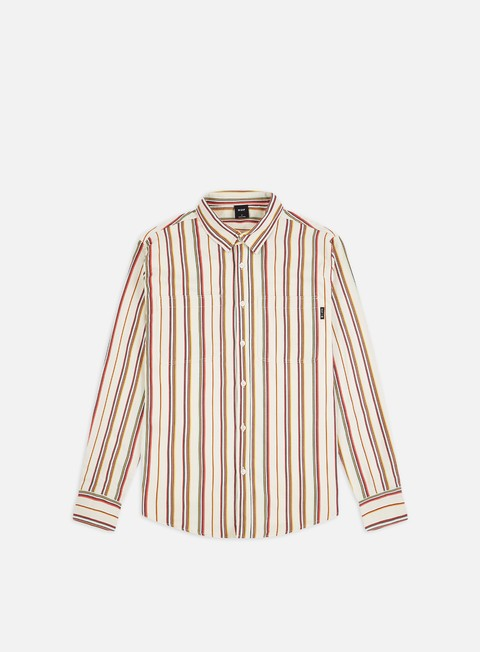 Sale Outlet Long Sleeve Shirts Huf Taylor Work Woven LS Shirt