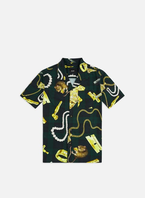 Short Sleeve Shirts Huf Tenderloin Woven SS Shirt