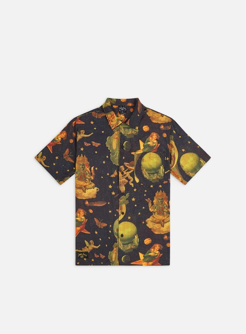 Short Sleeve Shirts Huf The Smashing Pumpkins Tonight Tonight Woven SS Shirt
