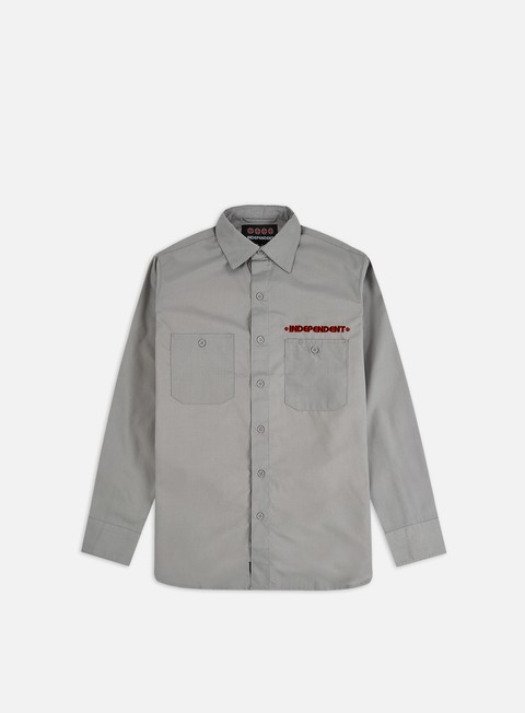 Long Sleeve Shirts Independent Grindstone Work LS Shirt