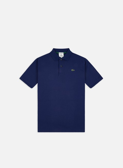 Polo Lacoste Live Metal Plate Ribbed Collar Polo Shirt