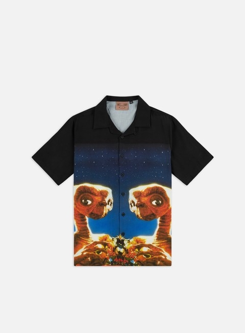 Short Sleeve Shirts Lazy Oaf E.T. Bowling SS Shirt