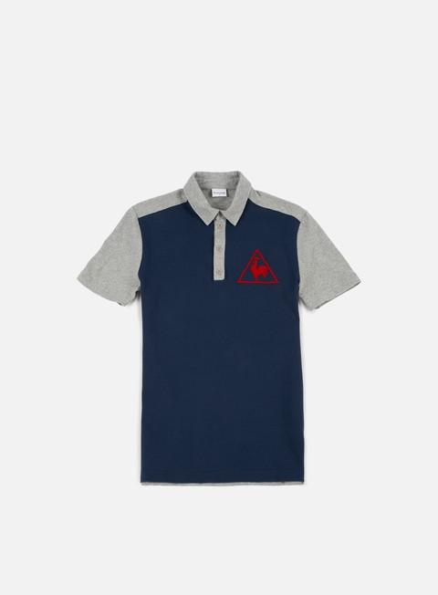 camicie le coq sportif tri lf tennis polo dress blues