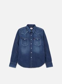Levi's - Barstow Western Shirt, Carbon Dark/Blue 1