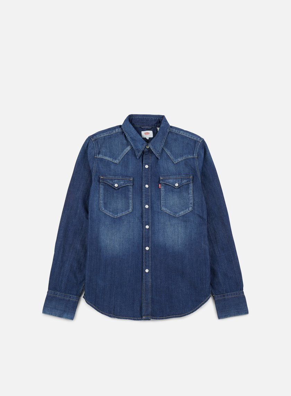 Levi's - Barstow Western Shirt, Carbon Dark/Blue
