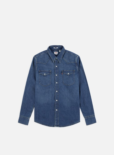 Sale Outlet Long Sleeve Shirts Levi's Barstow Western Shirt
