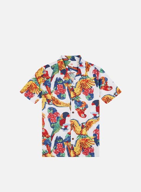 Outlet e Saldi Camicie a Manica Corta Levi's Cubano Shirt