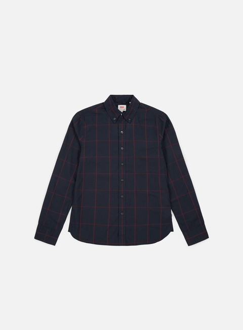 Outlet e Saldi Camicie a Manica Lunga Levi's Pacific No Pocket LS Shirt