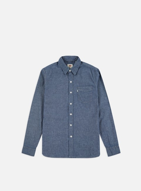 Outlet e Saldi Camicie a Manica Lunga Levi's Sunset 1 Pocket LS Shirt