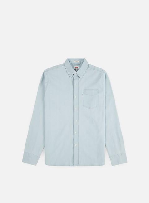 Outlet e Saldi Camicie a Manica Lunga Levi's Sunset 1 Pocket LS Shirt