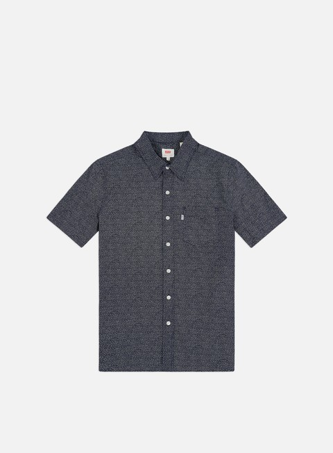 Outlet e Saldi Camicie a Manica Corta Levi's Sunset 1 SS Pocket Shirt