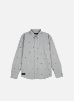 Makia - Anchors Shirt, Grey 1