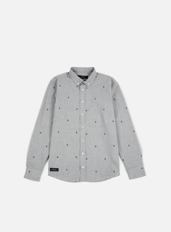 Makia - Anchors Shirt, Grey