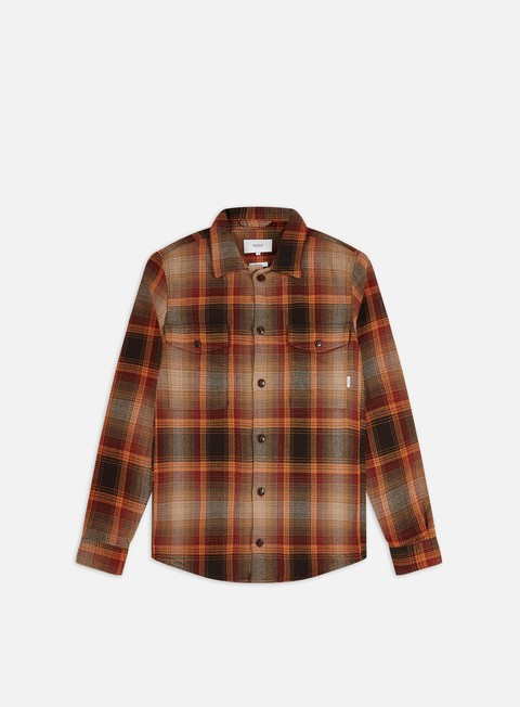 Long Sleeve Shirts Makia Country Overshirt