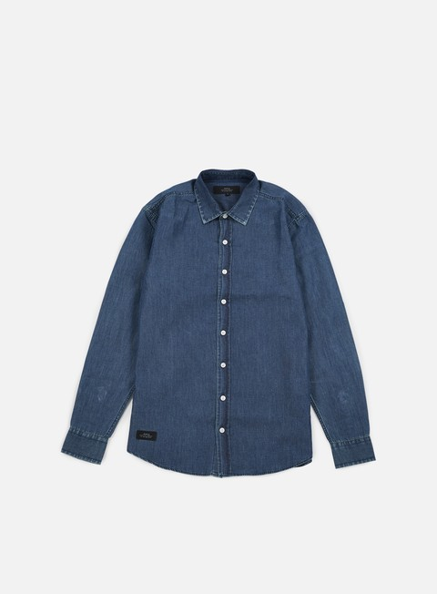 camicie makia dotted shirt indigo