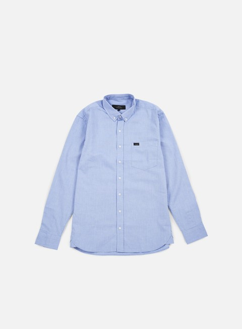 camicie makia flagship shirt blue