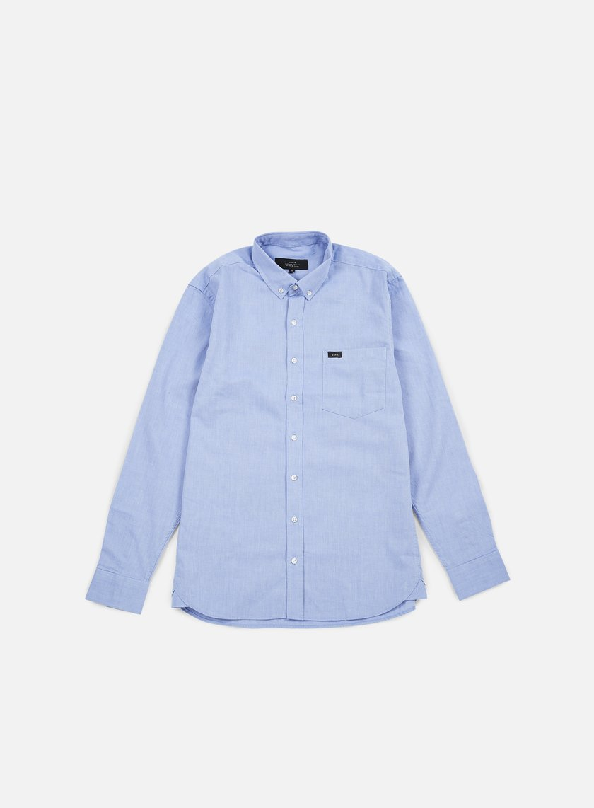 Makia - Flagship Shirt, Blue