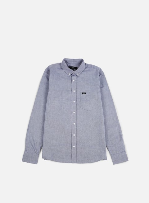 camicie makia flagship shirt deep blue