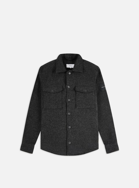 Long Sleeve Shirts Makia Rover Overshirt