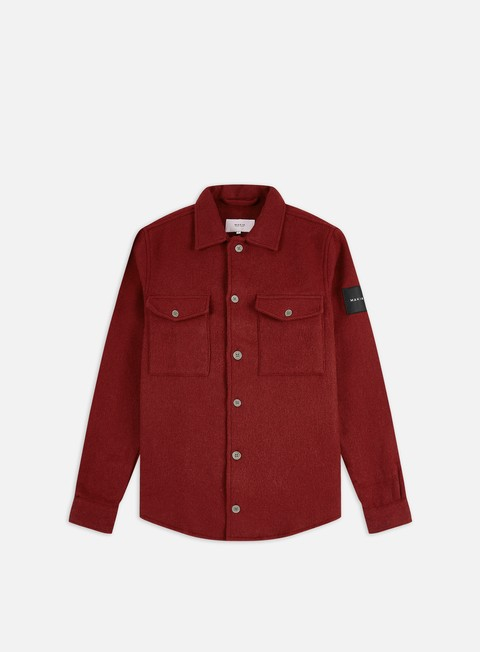 Sale Outlet Long Sleeve Shirts Makia Rover Overshirt