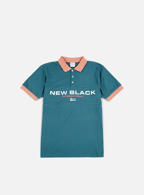 camicie new black sport tennis shirt aqua