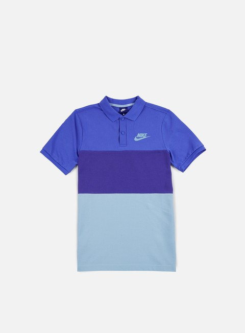 camicie nike matchup polo shirt comet blue deep night mica blue