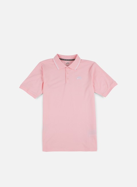 camicie nike sb dry polo shirt prism pink white