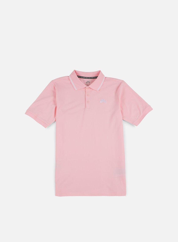Nike SB - Dry Polo Shirt, Prism Pink/White