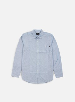 Obey - Arden LS Woven Shirt, Blue/Multi 1