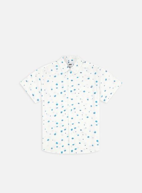 Short Sleeve Shirts Obey Aurora Woven SS Shirt