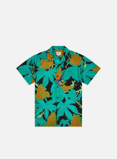 Short Sleeve Shirts Obey Buds Woven SS Shirt