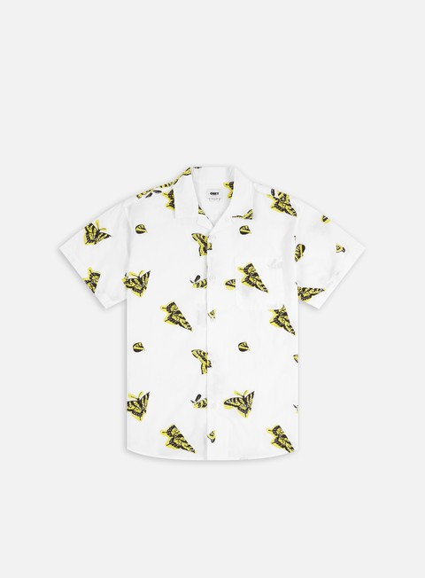 Camicie a Manica Corta Obey Butterfly Woven SS Shirt