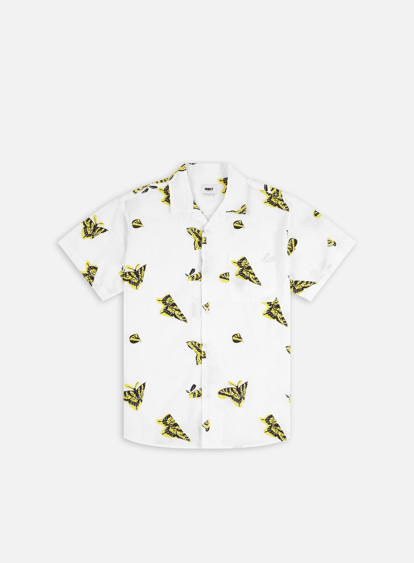 Obey Butterfly Woven SS Shirt