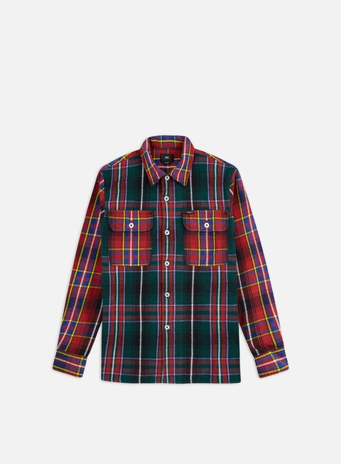 Outlet e Saldi Camicie a Manica Lunga Obey Capital Woven Shirt