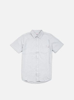 Obey - Dissent Trait SS Woven Shirt, Light Grey 1