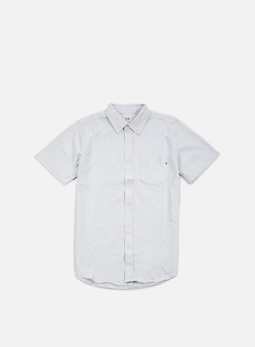 Obey - Dissent Trait SS Woven Shirt, Light Grey