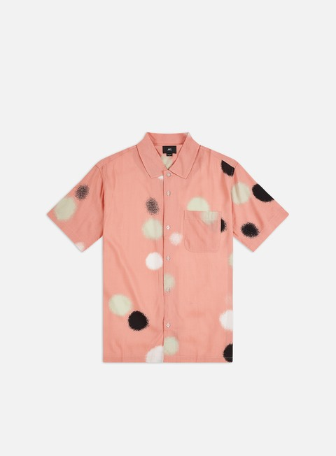 Short Sleeve Shirts Obey Echo Woven SS Shirt