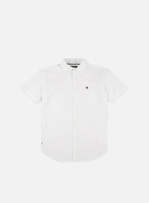 camicie obey eighty nine ss woven shirt white